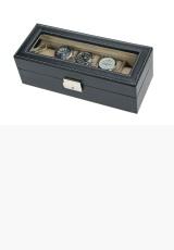 Kožené pouzdro-kazeta na hodinky SAFE 264