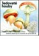 Jedovaté houby - známkový sešitek - VZS32
