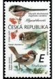 Zpěvní ptáci v našem okolí - Mlynaříkovití a vrabcovití - č. 1084 - za nominál