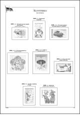 Albové listy A4 POMfila SR - r. 2020, zákl. verze - (6 listů), vč. zesílených euroobalů, nezasklené, 160gr.
