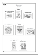 Albové listy A4 POMfila SR - r. 2020, zákl. verze - (6 listů), bez euroobalů, nezasklené, 160gr.