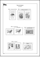 Albové listy A4 POMfila SR - ročník 2019, zákl. verze - (5 listů), bez euroobalů, nezasklené, papír 160gr.