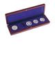Dřevěná etue na 5 ks mincí do 41 mm - HM ETUI 24
